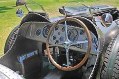 Cockpit för Bugatti typ 57 Arkivbilder