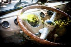 Cockpit för T1 för Volkswagen bussmodell Royaltyfri Bild