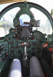 The cockpit of the famous Mig-21 fighter Stock Photography