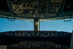 Cockpit royalty free stock images