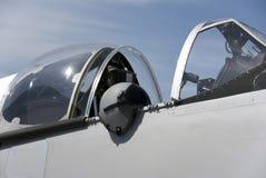 Cockpit and flight helmet Royalty Free Stock Photo