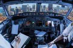 Cockpit i i stadens centrum San Francisco Royaltyfria Bilder