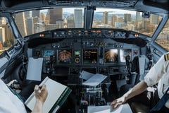 Cockpit i San Francisco Fotografering för Bildbyråer