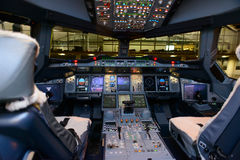Cockpit interior Stock Image