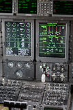 Cockpit internal View Royalty Free Stock Image