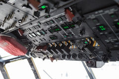 Cockpit internal View Stock Photo