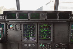 Cockpit internal View Royalty Free Stock Photos