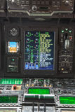 Cockpit internal View Royalty Free Stock Images