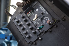 Cockpit internal View Royalty Free Stock Photography