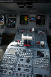 Cockpit of jet airliner Royalty Free Stock Photography