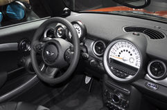 Cockpit of MINI CABRIO Royalty Free Stock Images