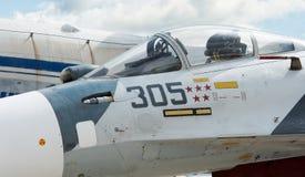 Cockpit van de vechter Stock Foto's