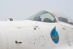 Cockpit van straal mig-29 Royalty-vrije Stock Foto