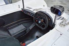 Cockpit von BMW V12 LMR Lizenzfreies Stockfoto
