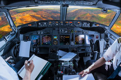 Cockpit in Waimea-Schlucht Hawaii stockfotografie