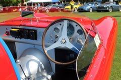 Cockpit Weinlese-Maseratis Tipo 200S Lizenzfreie Stockfotografie