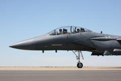 Cockpitansicht des Rollens F-15 Lizenzfreie Stockfotos