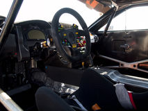 Cockpiten av en McLaren GT MP4-12C Royaltyfri Bild