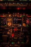 Cockpitlichter Lizenzfreie Stockfotografie