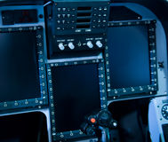 Cockpitsteuerung Stockbild