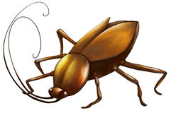 Cockroach digital art Stock Photo