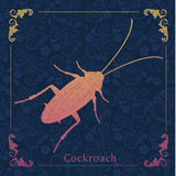 Cockroaches, Decorative painting Royalty Free Stock Photo