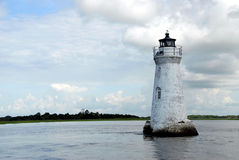 Cockspur Island lighthouse Stock Photography
