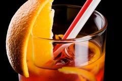 Cocktai alcohólico frío Imágenes de archivo libres de regalías