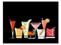 Cocktail 15 Royalty Free Stock Photos