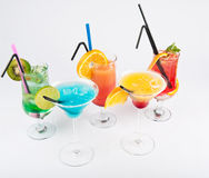 Fresh cocktails Royalty Free Stock Photos