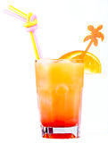 Cocktail. With alcohol and various components used in a bar Royalty Free Stock Images