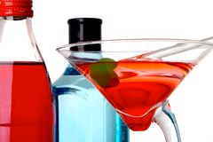 Cocktail. Fruity cool beverage thats colorful and delicious Royalty Free Stock Image