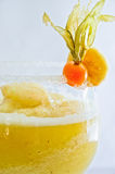 Cocktail. A delicious banana margharita, refreshing and tasty royalty free stock images