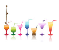 Cocktail illustration libre de droits