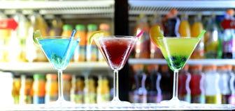 3 cocktail Imagem de Stock Royalty Free