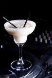 Cocktail. The creamy cocktail and decoration Stock Images