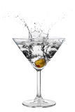 Cocktail action Stock Images