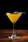 Cocktail alaranjado do álcool Foto de Stock