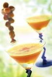 Cocktail alaranjado do partido Imagens de Stock