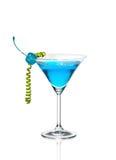 Cocktail alaranjado em um vidro Fotografia de Stock Royalty Free