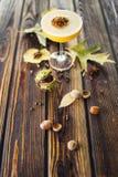 Cocktail alcoólico alaranjado fotos de stock royalty free