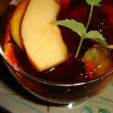 Cocktail alcoólico de cima de foto de stock royalty free
