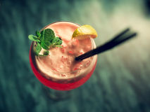 Cocktail. Royalty Free Stock Image