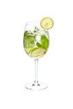 Cocktail alcoólico frio Foto de Stock