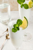 Cocktail alcoolique italien Sgroppino Image libre de droits