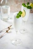Cocktail alcoolique italien Sgroppino Photographie stock libre de droits