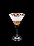 Cocktail Amaretto coffee Stock Image