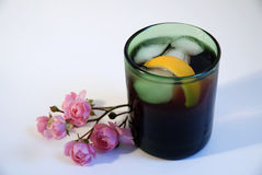 Cocktail americano Lizenzfreie Stockfotos