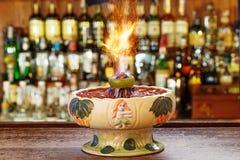 Cocktail americano classico Immagine Stock Libera da Diritti