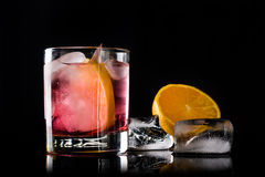Cocktail antiquado foto de stock royalty free